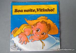 Disco vinil single infantil - Boa noite Vitinho