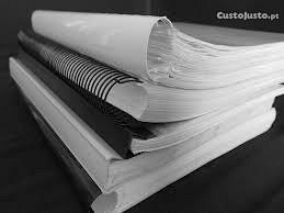 Apoio/Ajuda em trabalhos académicos