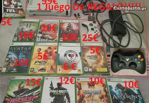 Xbox 360 Comando Cabos jogos