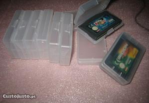 Caixas protectoras p/ jogos nintendo game advance