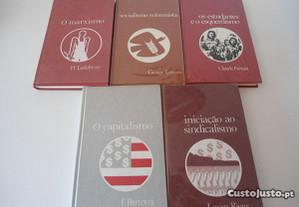 5 Livros de temática política (anos 70)