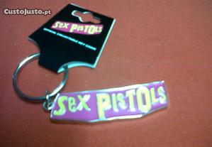 Sex pistols - Porta-chaves