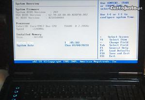 Asus N90 18,4p T6600, 60Gb ssd, 320Gb