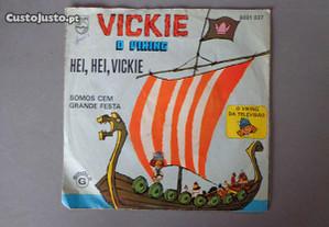Disco vinil single infantil - Vickie o Viking