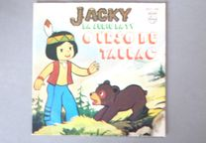 Disco vinil single infantil - Jacky