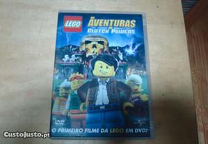 dvd as aventuras de clutch powers 1 filme da lego