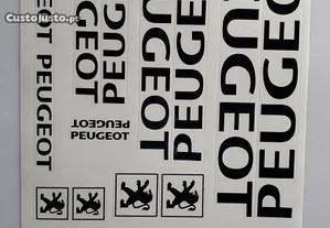 Peugeot autocolantes