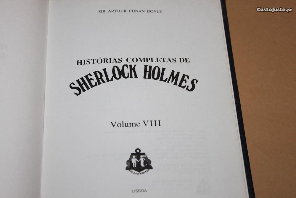 Histórias Completas de Sherlock Holmes - à venda - Livros, Lisboa ...