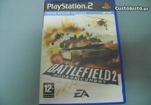 Jogo Ps2 Battlefield 2 Modern Combat 10.00