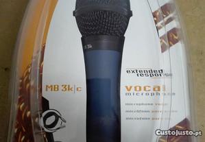 Microfone Dinâmico de Mão Audio-Technica - Novo