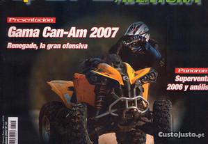 Revista antiga QUADS 4x4 aventura com 148 paginas