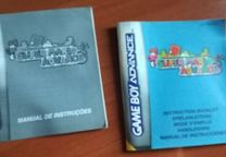 Manual Super Mario Advance GBA Game Boy Advance