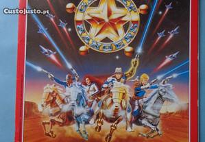 Caderneta de cromos Adventures of the Galaxy Range