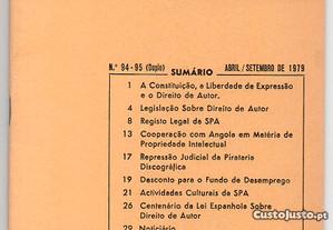 Boletim da Sociedade Portuguesa de Autores, n.º 94