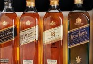 Whisky - Johnnie Walker (pack 4 x 20cl)