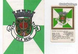 Brasão de Vila Real - lote de 2 artigos