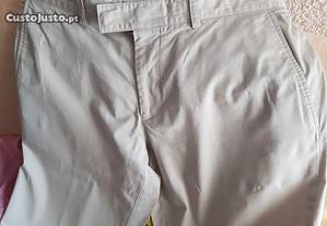 calças algodão homem Hugo Boss