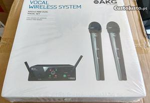 AKG WMS Mini Kit duplo micros sem fio