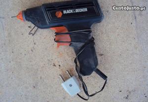 pistola a quente blak- decker profissional