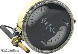 Manómetro temperatura e óleo universal barato