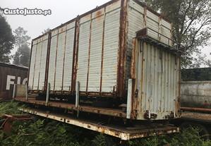 Caixa basculante camião galera atrelado