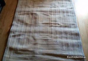 Carpete de sala de estar 100% lã