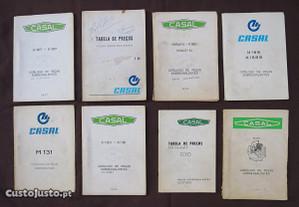 Motorizadas Casal Catálogos peças sobressalentes