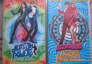 Pack Austin Powers VHS
