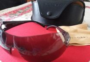 Óculos de sol bvlgari com estojo originais novos