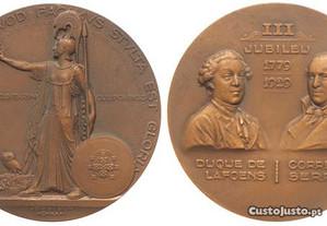 Medalha comemorativa - Autor Mestre João da Silva