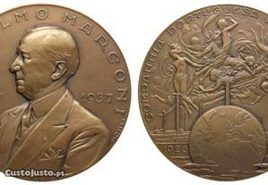 Medalha alusiva a Guglielmo Marconi