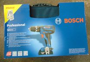 Aparafusadora Bosch GSR 18-2-LI PLUS com 2 Bateria