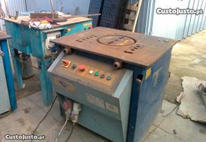maquina cortar e moldar ferro