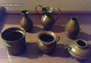 Conjunto de peças de decoração