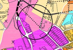 Terreno industria 6.566m2 Canelas zona Ind. Terços