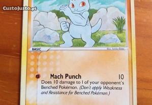 Pokemon Card -Machop 50 HP