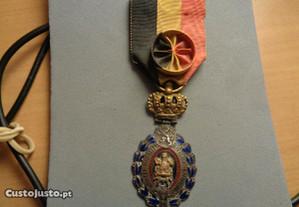 Medalha Bégica Trabalhos Cívicos1ª Guerra Mundial