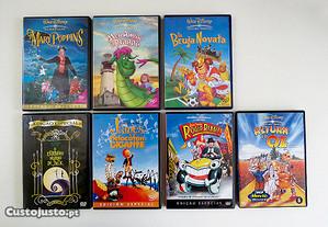 2 DVDs Animação Disney