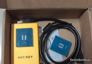 Mercedes IR Key pogramer Chave com BGA Nec