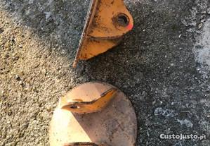 Sapatas com 40cm de diametro