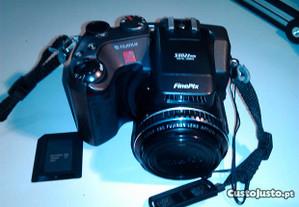 Máquina fotográfica fulifilm s602+lente+flash Metz