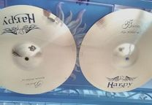 2 Prato-Cymbals Harpy B Series Bottoim HI HAT