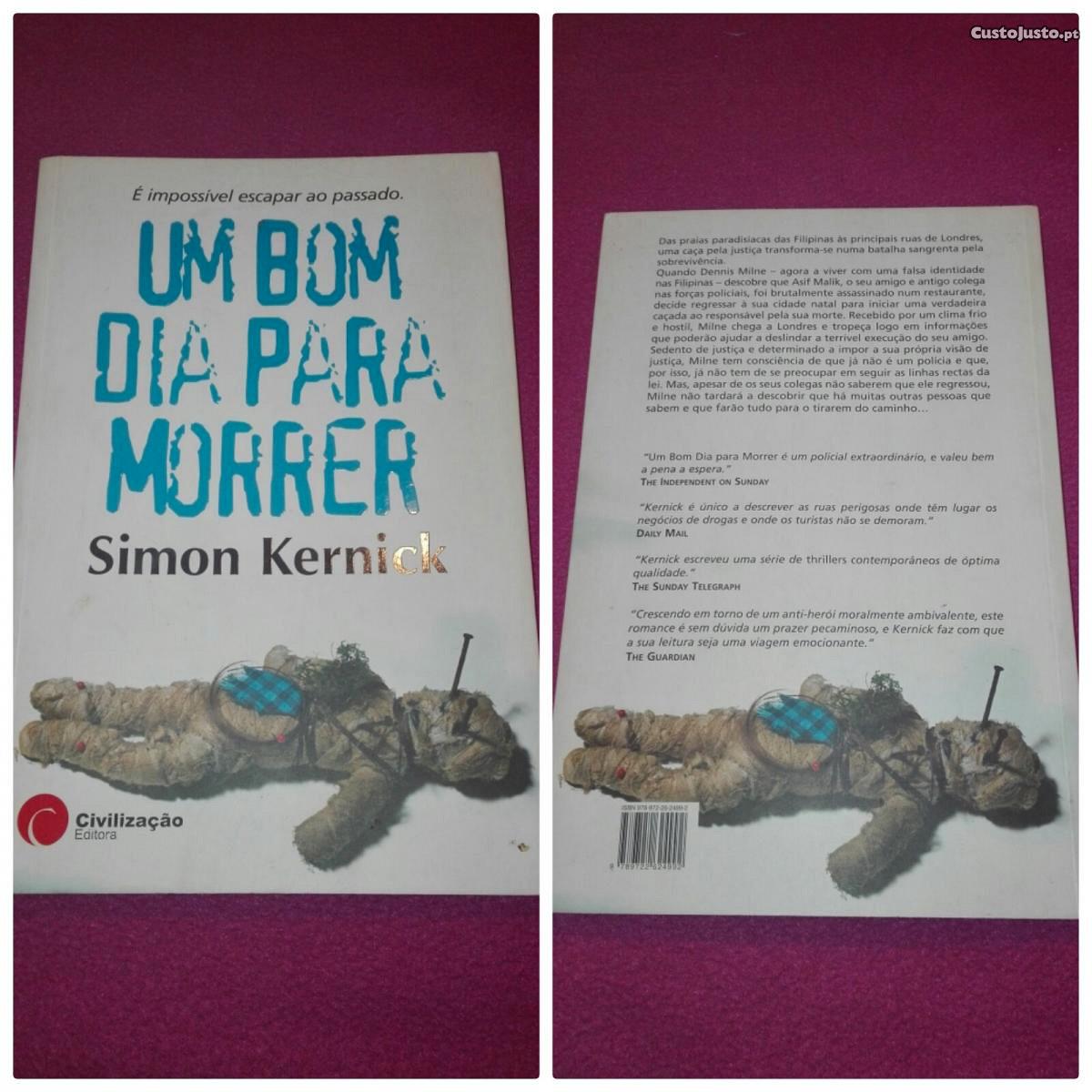 """Livro """"Um Bom Dia Para Morrer"""" - à venda - Livros, Viseu ..."""