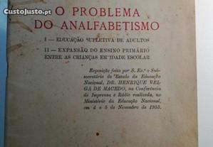 O Problema do Analfabetismo - Plano de Ed. Popular