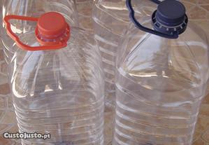 Lotes de 4 Garrafões de plástico de 6 litros