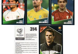Cromos Euro 2004 Croácia-Suécia-Bulgária-Alemanha