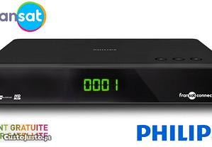 Receptor Philips FRANSAT HD Franceses (Novo)