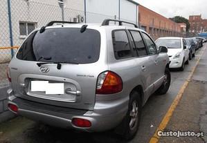 Hyundai Santa Fe 2.0 CRDi 2004 - Para Peças