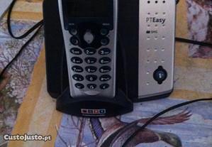 telefone sem fio da PT