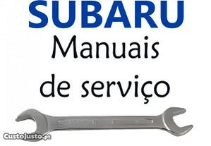 Subaru Manuais de serviço